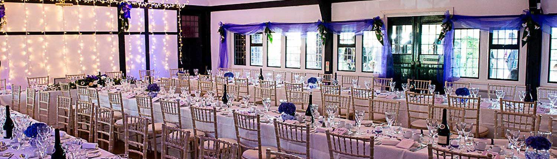 Ballinger-Hall,-Set up for a Wedding Reception ©Mark-Sisley-Photography