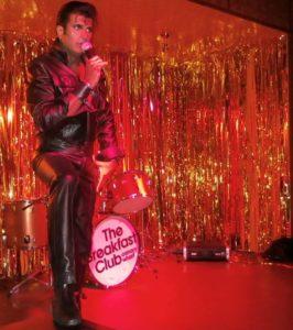 Elvis tribute Sal Bashir, Ballinger Hall Elvis Tribute Night Saturday 4 March 2017