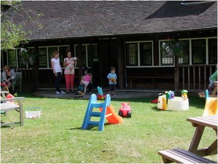 Ballinger Hall Children's Play area